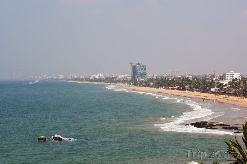 Fotka, Foto Kolombo, pohled na pobřeží (Srí Lanka)
