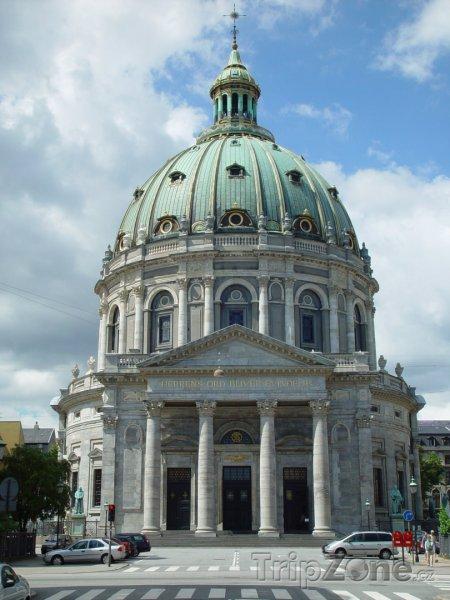 Fotka, Foto Kostel Frederiks Kirke (Kodaň, Dánsko)