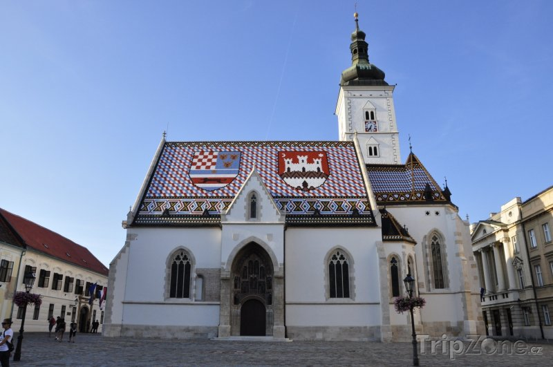 Fotka, Foto Kostel Svatého Marka (Záhřeb, Chorvatsko)