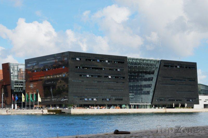 Fotka, Foto Královská knihovna (Černý diamant) (Kodaň, Dánsko)