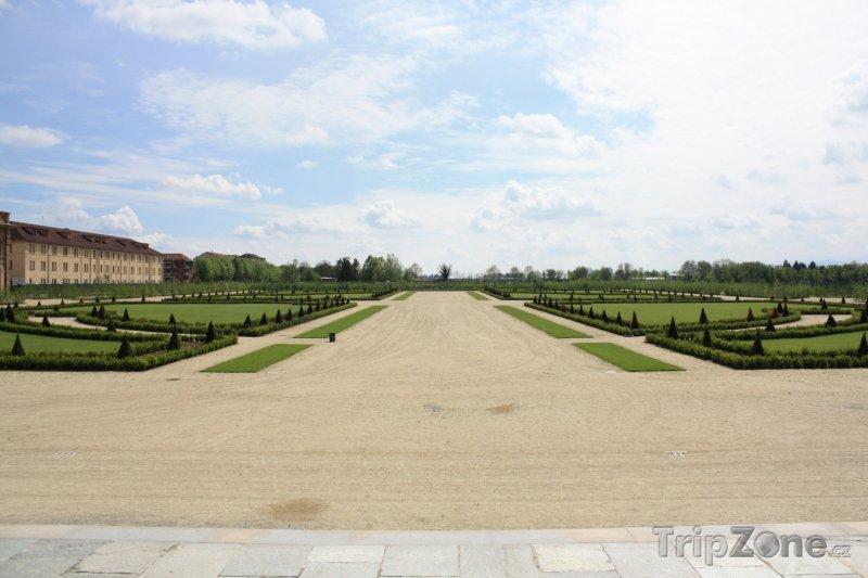 Fotka, Foto Královské zahrady (Turín, Itálie)