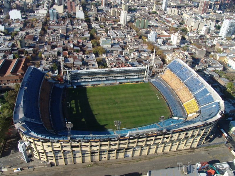 Fotka, Foto La Bombonera - stadion klubu Boca Juniors (Buenos Aires, Argentina)