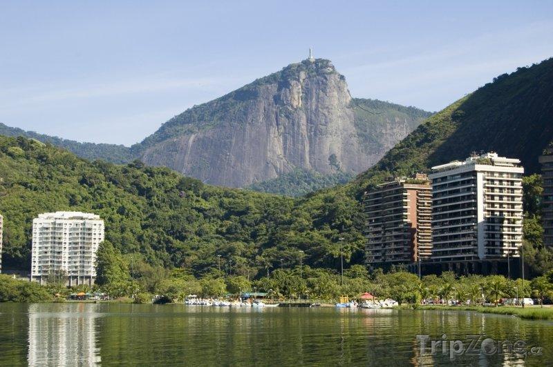 Fotka, Foto Laguna Rodrigo de Freitas (Rio de Janeiro, Brazílie)
