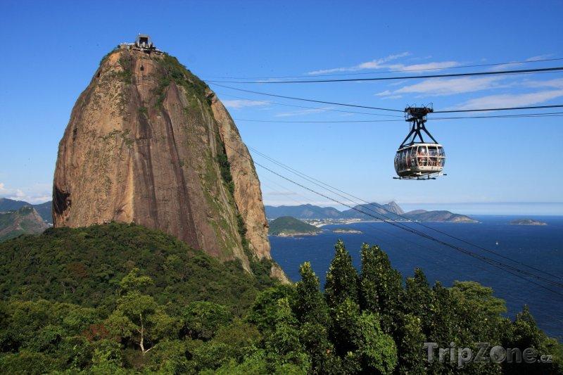 Fotka, Foto Lanovka na horu Sugarloaf (Rio de Janeiro, Brazílie)