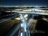 Los Angeles, víceúrovňová křižovatka dálnic I-105 a I-110