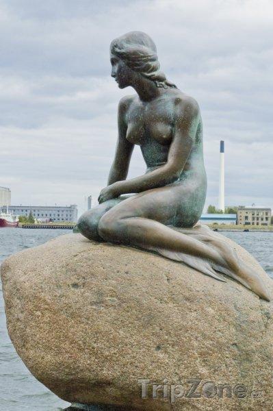 Fotka, Foto Malá mořská víla (Kodaň, Dánsko)