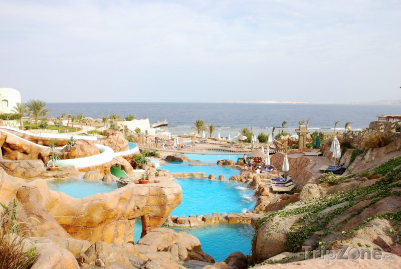 Fotka, Foto Malý aquapark u pláže (Sharm El Sheikh, Egypt)