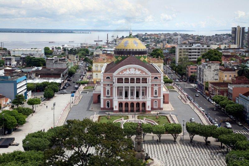 Fotka, Foto Manaus - divadlo Amazonas (Brazílie)