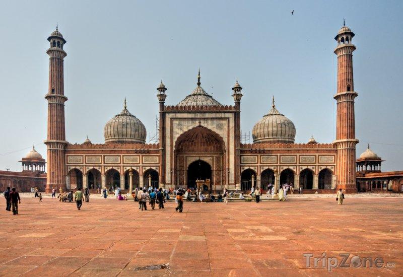 Fotka, Foto Mešita Džámí v Novém Dillí (Indie)