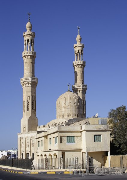 Fotka, Foto Mešita v centru města (Hurghada, Egypt)