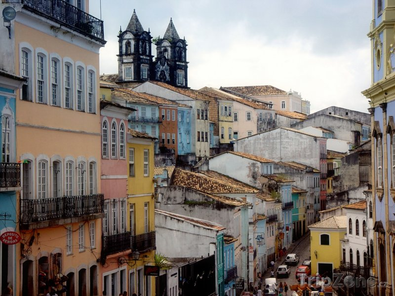 Fotka, Foto Město Salvador v oblasti Bahia (Brazílie)