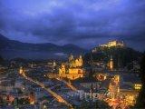 Město v noci