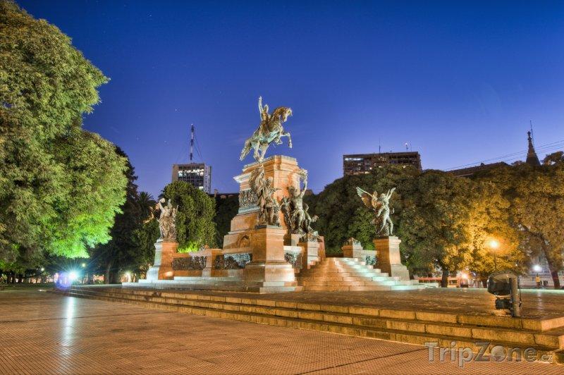 Fotka, Foto Monument General San Martín (Buenos Aires, Argentina)