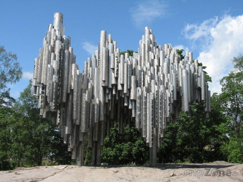 Fotka, Foto Monument Sibelios (Helsinky, Finsko)