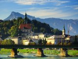 Most přes řeku Salzach