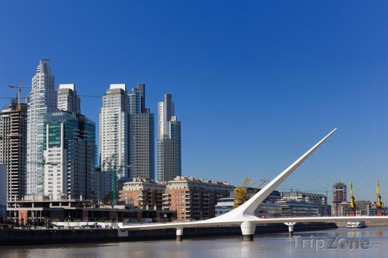 Fotka, Foto Most Puente De La Mujer (Buenos Aires, Argentina)