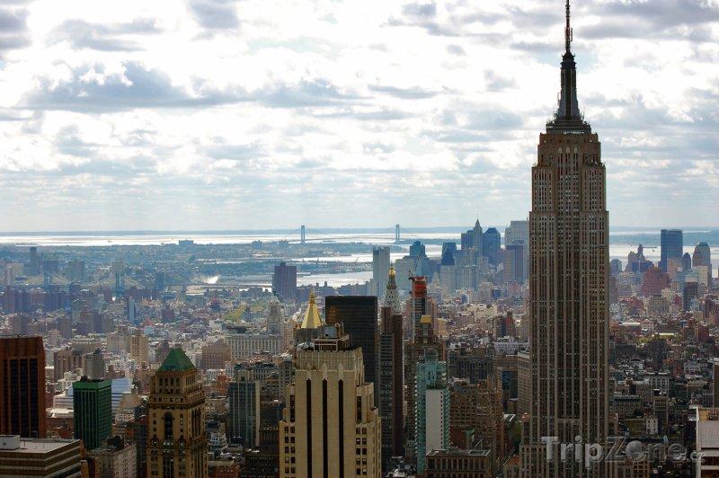 Fotka, Foto Mrakodrap Empire State Building v New Yorku (New York, USA)