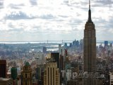 Mrakodrap Empire State Building v New Yorku