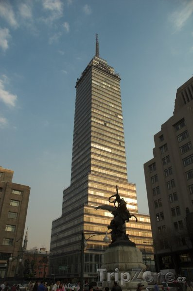Fotka, Foto Mrakodrap Torre Latinoamericana (Mexico City, Mexiko)