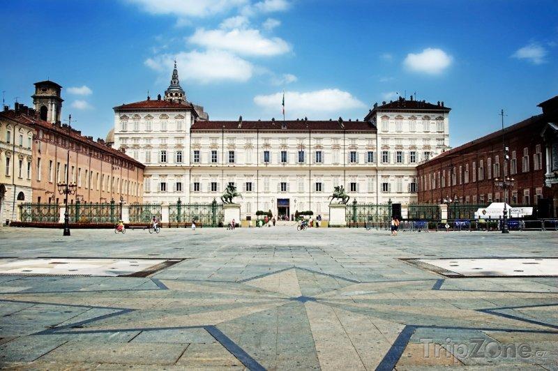 Fotka, Foto Náměstí Piazza Castello (Turín, Itálie)