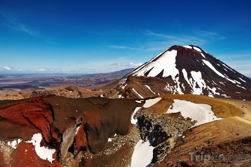 Fotka, Foto Národní park Tongariro, Mount Ngauruhoe (Nový Zéland)