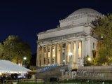 New York, Columbia University, budova Low Memorial Library