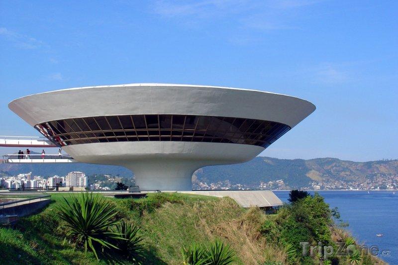 Fotka, Foto Niteroi - Muzeum současného umění (Brazílie)