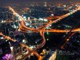 Noční doprava v Bangkoku
