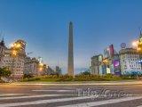 Obelisk na Avenida 9 de Julio