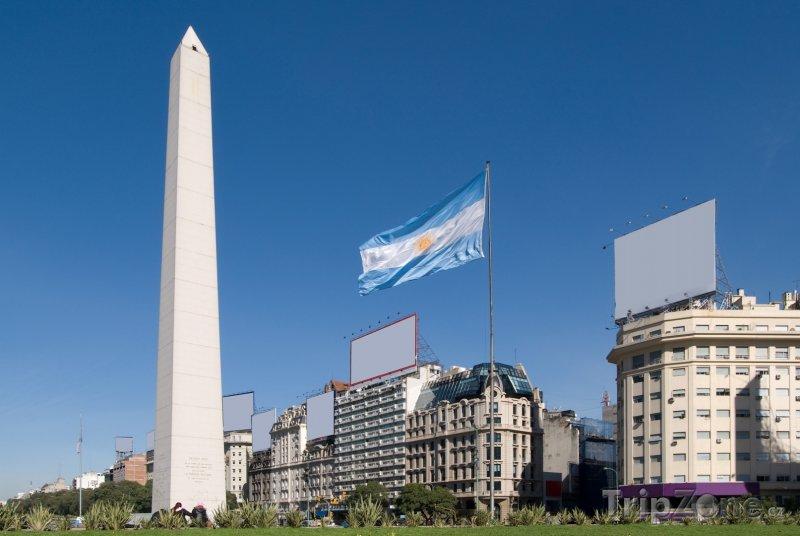 Fotka, Foto Obelisk (Buenos Aires, Argentina)