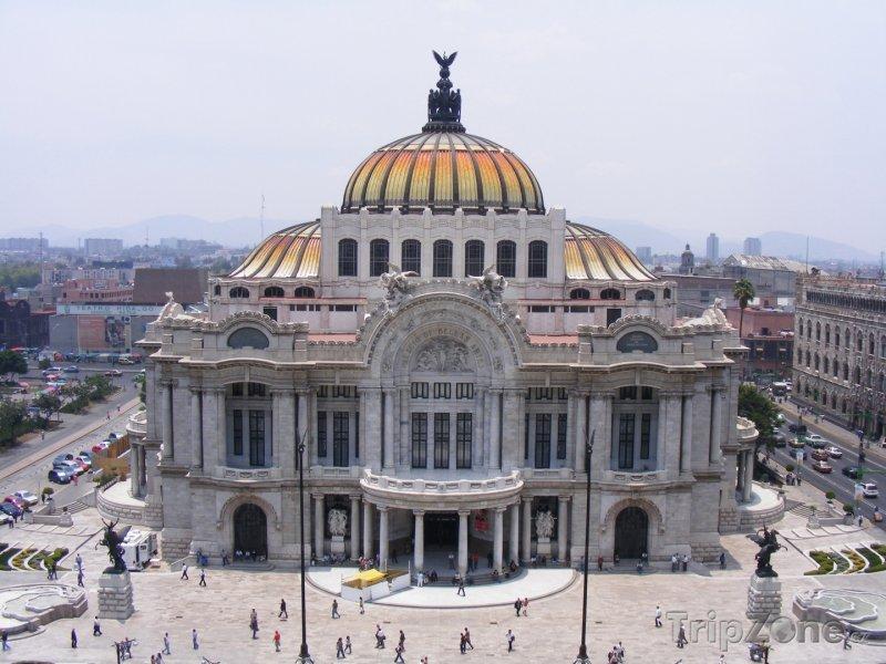 Fotka, Foto Palác výtvarného umění (Mexico City, Mexiko)