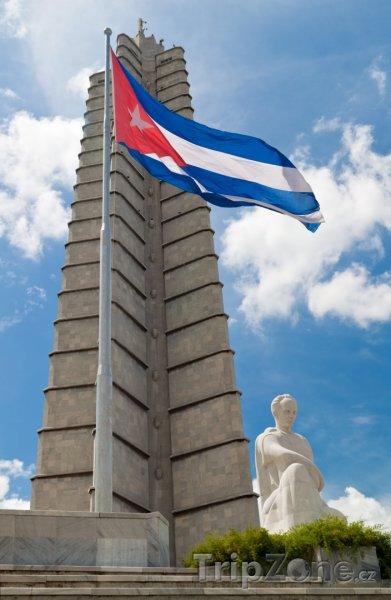 Fotka, Foto Památník José Martího na Náměstí Revoluce (Havana, Kuba)