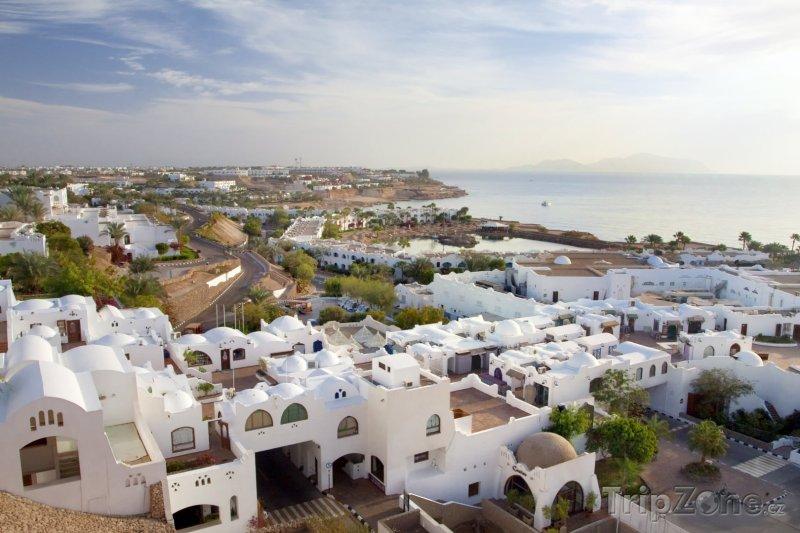 Fotka, Foto Panoramatický pohled na město (Sharm El Sheikh, Egypt)