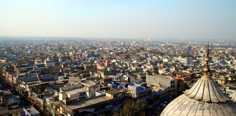 Fotka, Foto Panoramatický pohled na město (Nové Dillí, Indie)