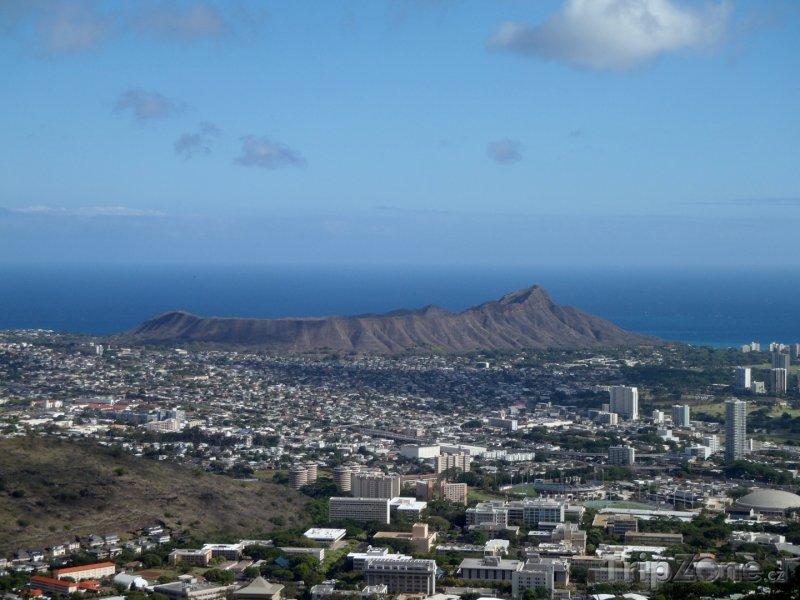 Fotka, Foto Panoramatický pohled na město (Honolulu, USA)