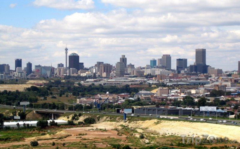Fotka, Foto Panoramatický pohled na město (Johannesburg, Jihoafrická republika)