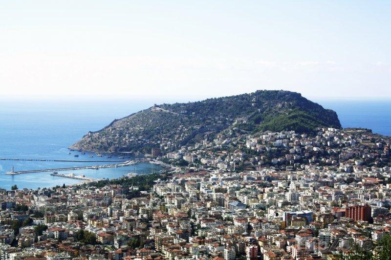Fotka, Foto Panoramatický pohled na město (Antalya, Turecko)