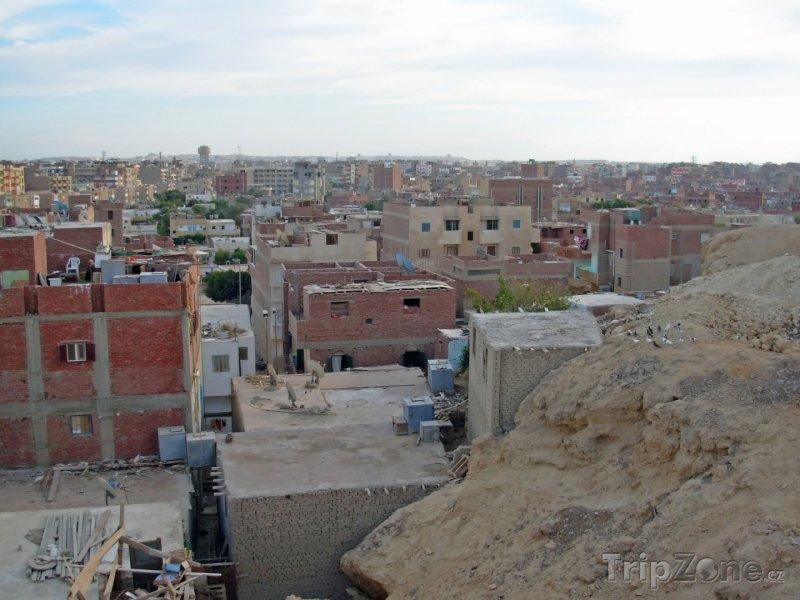 Fotka, Foto Panoramatický pohled na okraj města (Hurghada, Egypt)