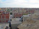 Panoramatický pohled na okraj města