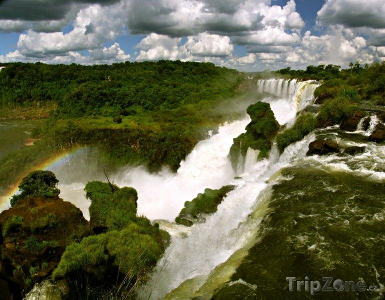 Fotka, Foto Parana - vodopády Iguazu (Brazílie)