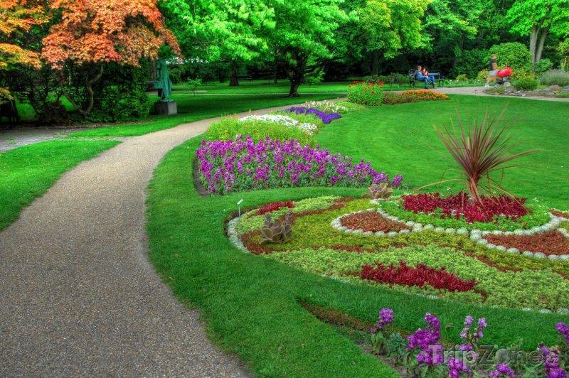 Fotka, Foto Park na okraji města (Kodaň, Dánsko)