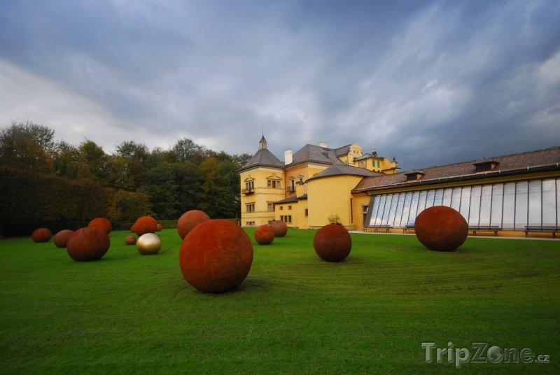 Fotka, Foto Park u zámku Hellbrunn (Salcburk, Rakousko)