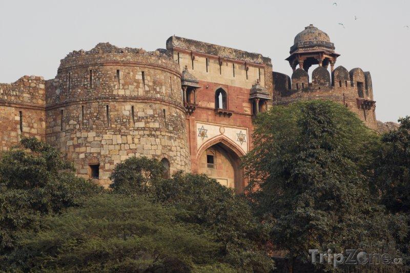 Fotka, Foto Pevnost Purana Qila (Nové Dillí, Indie)