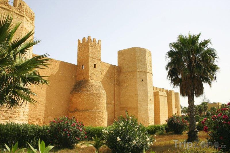 Fotka, Foto Pevnost ve městě Monastir (Tunisko)