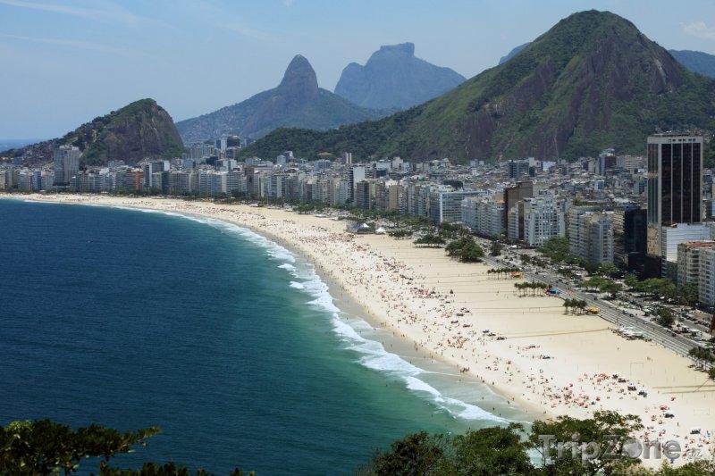Fotka, Foto Pláž Copacabana (Rio de Janeiro, Brazílie)