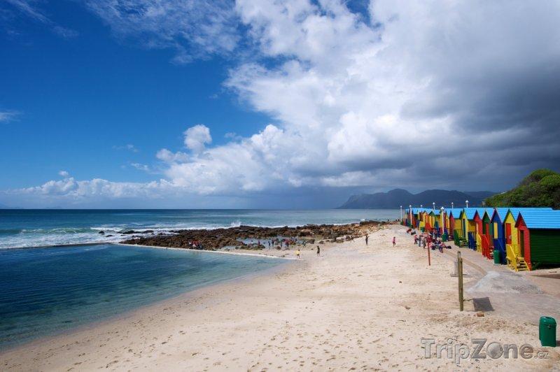 Fotka, Foto Pláž St. James (Kapské město, Jihoafrická republika)