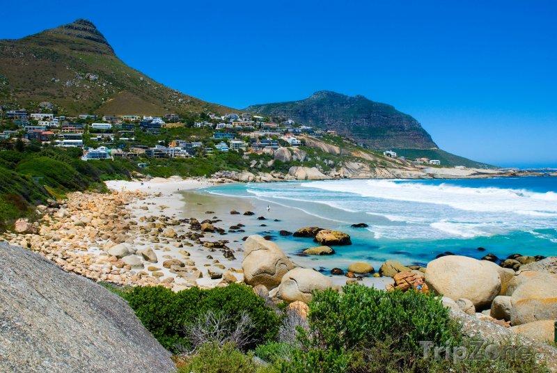 Fotka, Foto Pláž u Kapského města (Jihoafrická republika)