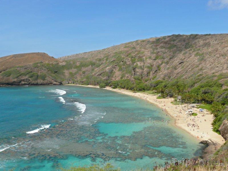 Fotka, Foto Pláž v Hanauma Bay (Honolulu, USA)