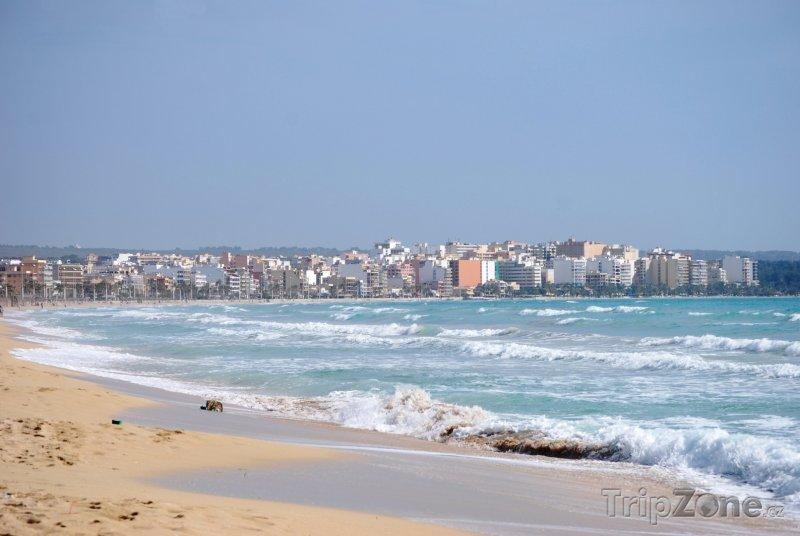 Fotka, Foto Pláž v Palma de Mallorca (Palma de Mallorca, Španělsko)