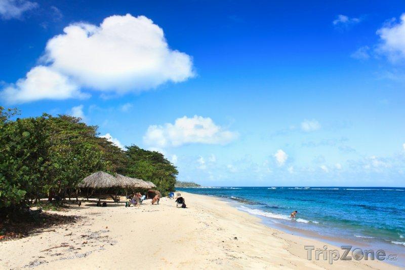 Fotka, Foto Pláž v provincii Guantánamo na východě Kuby (Kuba)